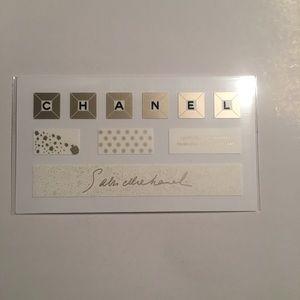 Chanel keyboard sticker sheet